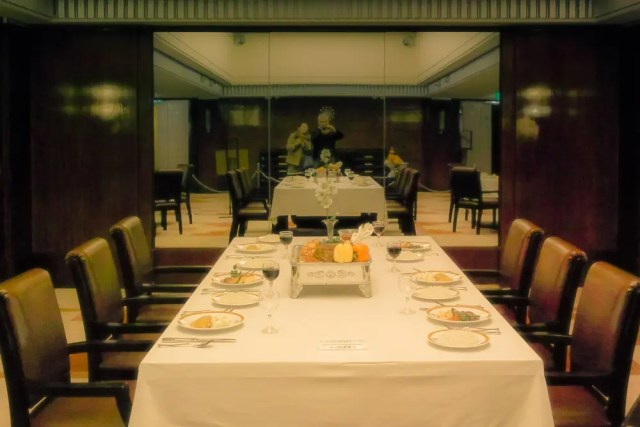 The first class dining room