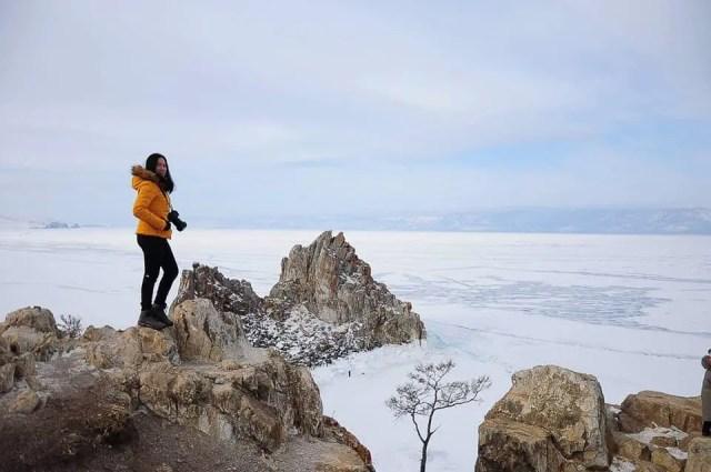 May, Lake Baikal