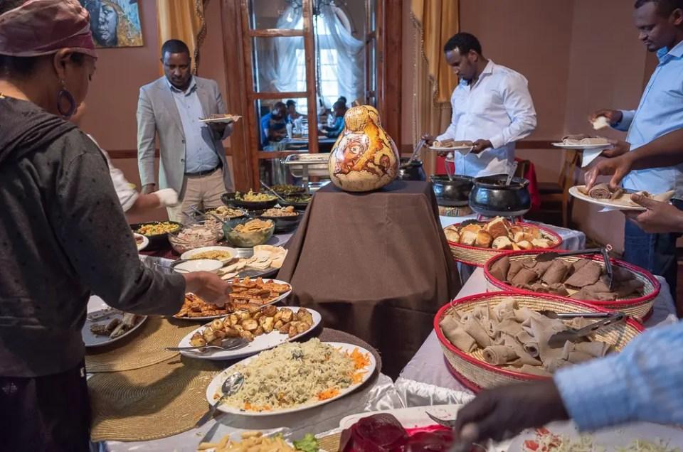 Injera, Ethiopian food