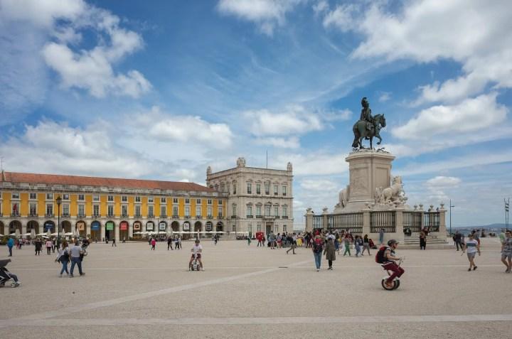 Lisbon Praça do Comércio