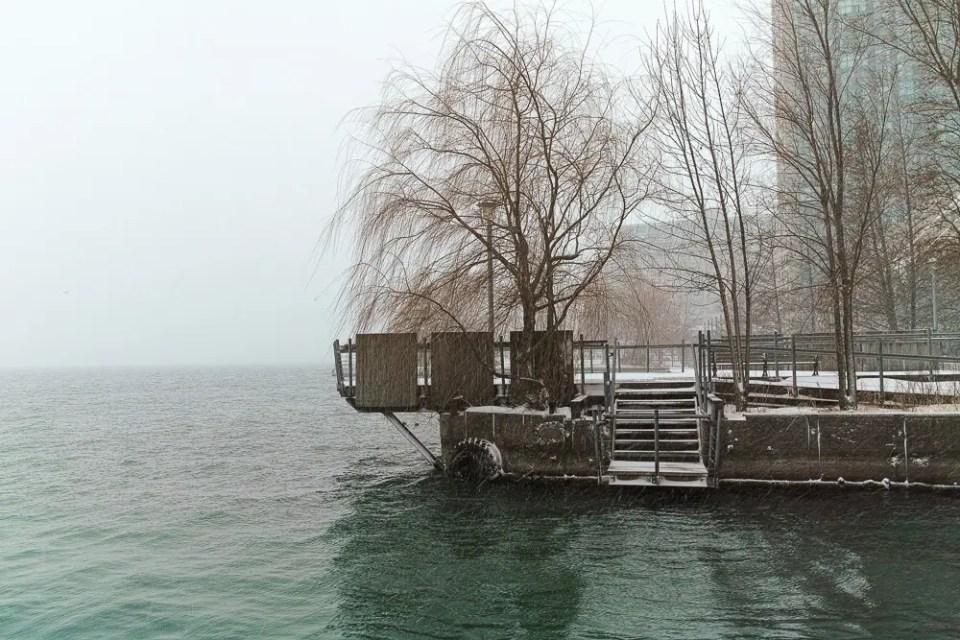 Toronto Harbourfront winter