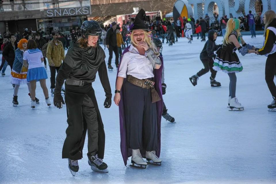 Fun Expo on ice!