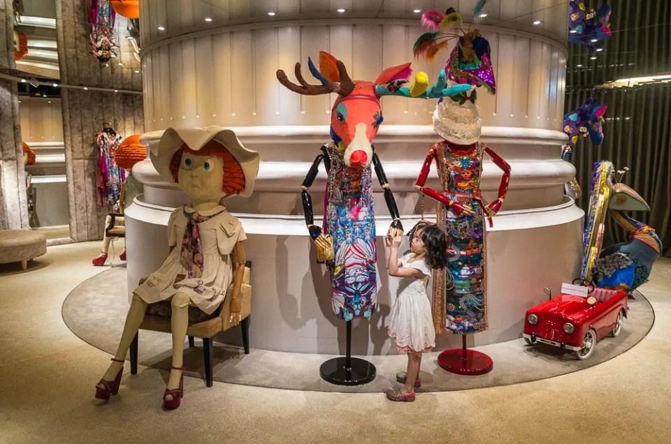 Fashion display, Bangkok