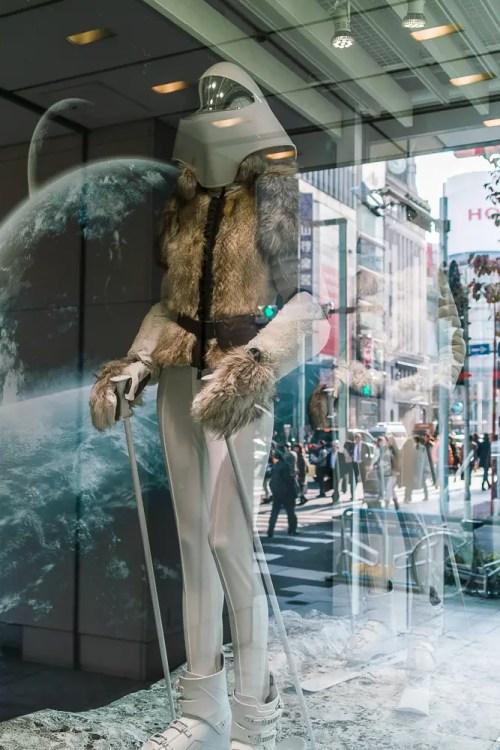 Tokyo space fashion