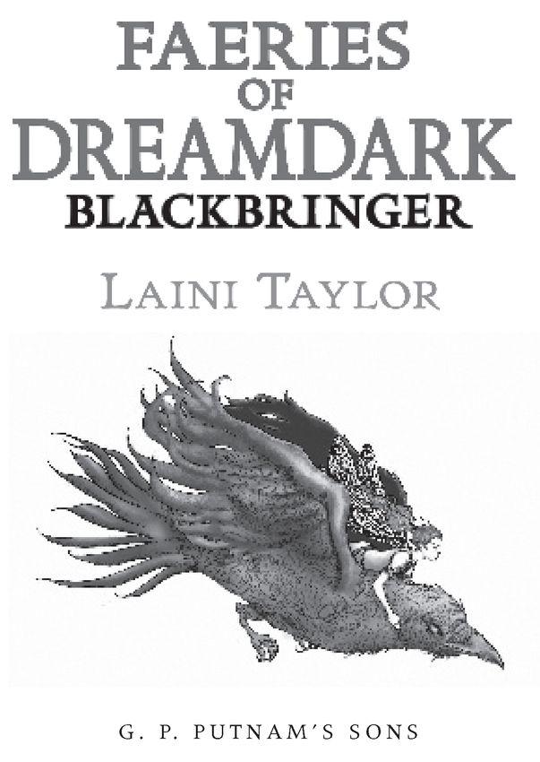 Read Blackbringer by Laini Taylor online free full book.