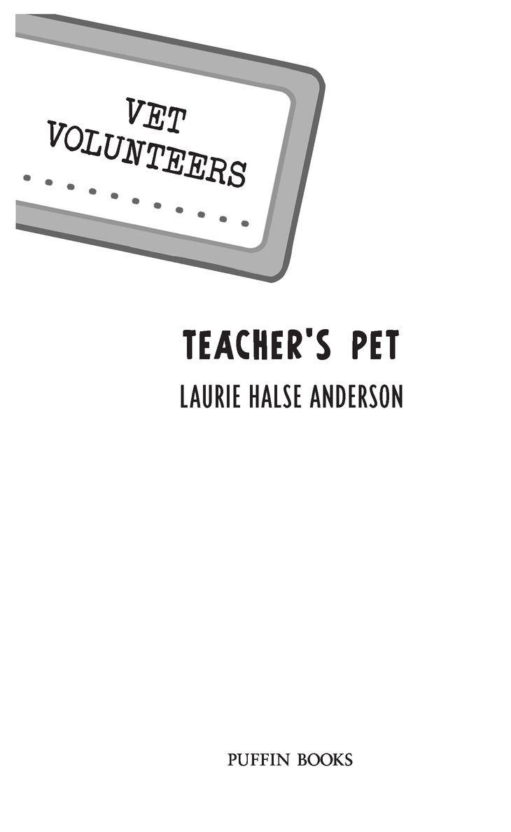 Read Teacher's Pet by Laurie Halse Anderson online free
