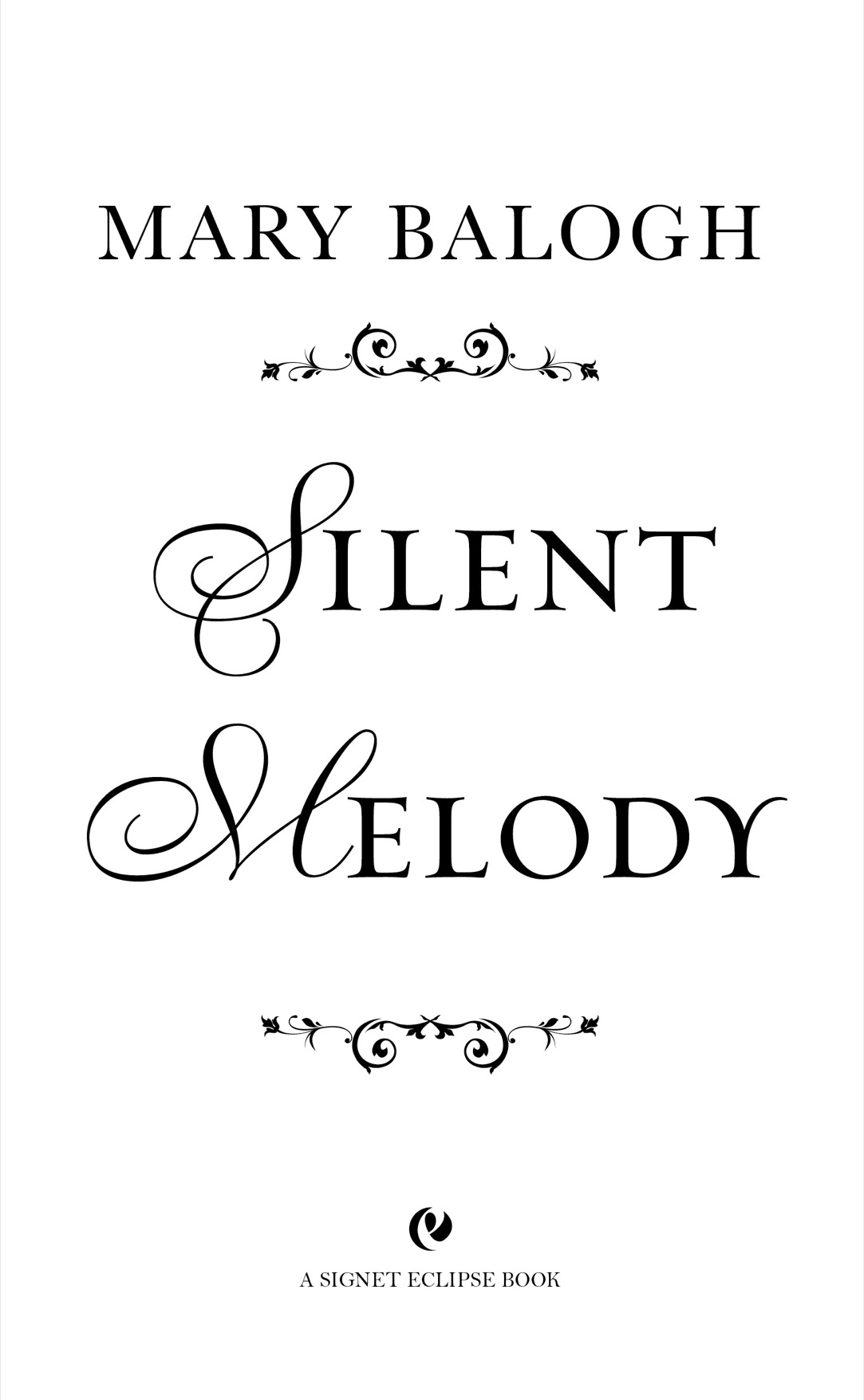 Read Silent Melody by Mary Balogh online free full book.