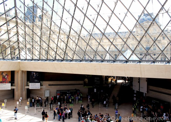 Louvre Pyramid Paris Inside