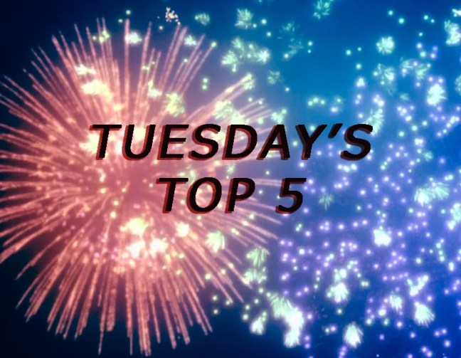 Tuesday's Top 5