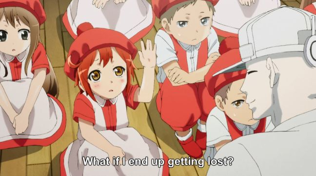 Cells at Work Episode 6 - Red Blood Cells at school