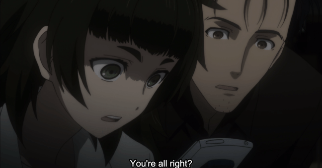 Steins;Gate 0 Episode 19 - Okabe and Maho