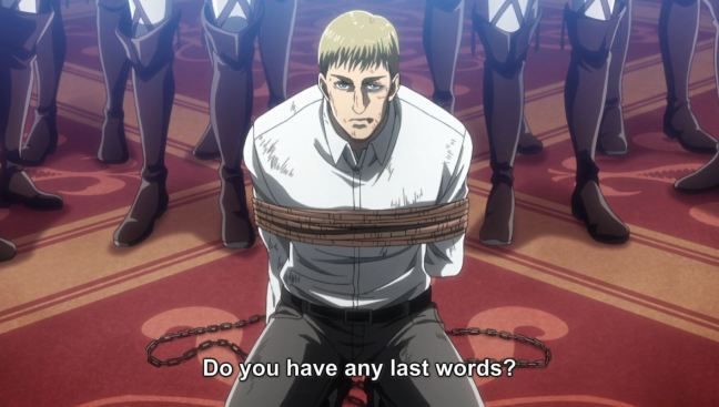 Attack on Titan Season 3 Episode 4 - Erwin