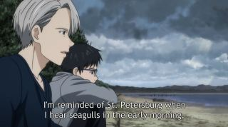 Yuri on Ice Episode 4 - Victor and Yuri