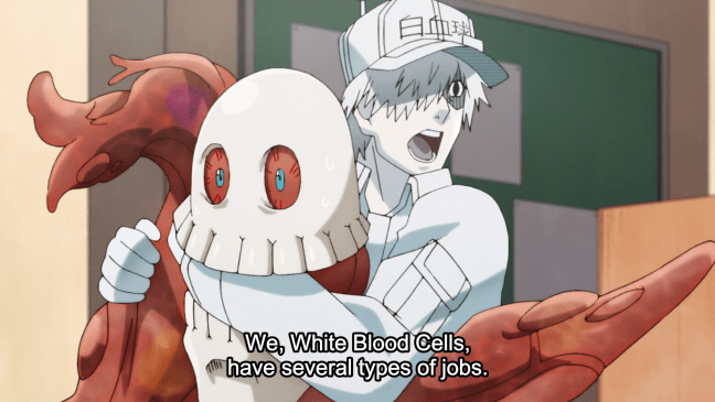 Cells at Work Episode 12 - White Blood Cell