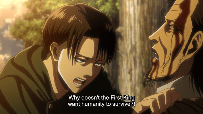 Attack on Titan Episode 10 - Kenny and Levi