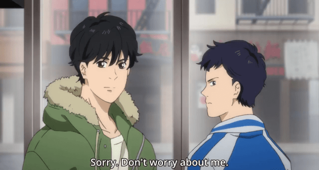 Banana Fish Episode 19 Eiji and Sing