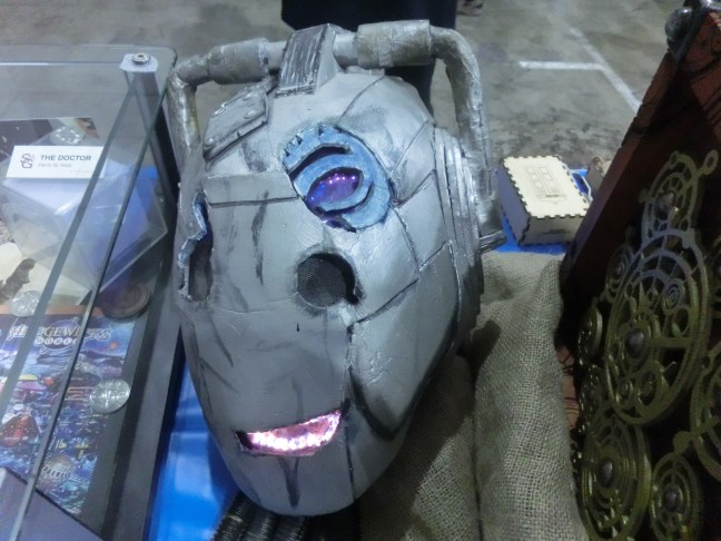 Supanova Brisbane - Cyberman from Dr Who