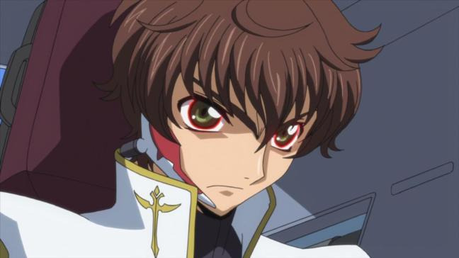 Suzaku being compelled to live - Code Geass