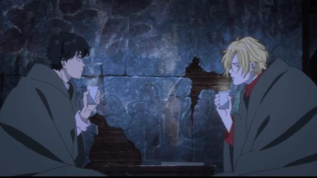 Banana Fish Episode 21 Ash and Eiji