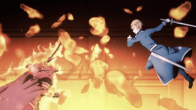 Sword Art Online Alicization Episode 14 Eugeo strikes