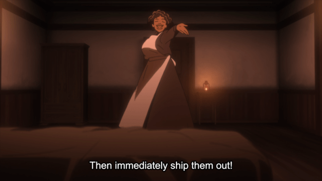 The Promised Neverland Episode 3 Sister Krone