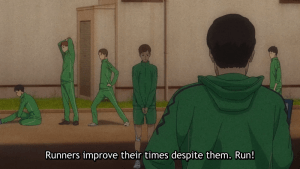 Run With The Wind Episode 13 Kakeru's old team.