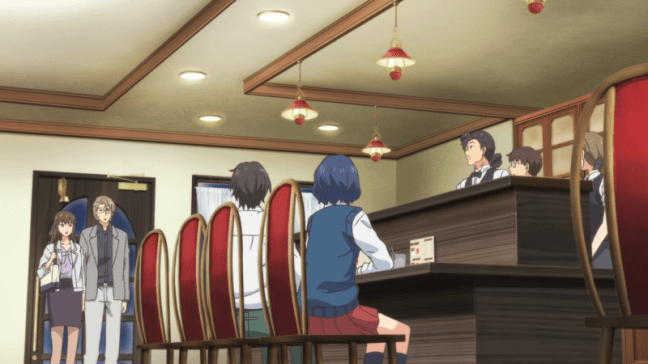 Domestic Girlfriend Episode 4 Everyone in the cafe - Awkward