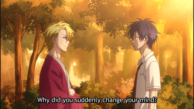 The Morose Mononokean Episode 6 Abeno and Ashiya