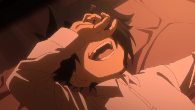 The Promised Neverland Episode 5 Ray Laughing