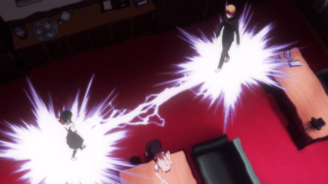 Kaguya-Sama Episode 12 - Shinomiya and Shirogane crossing paths