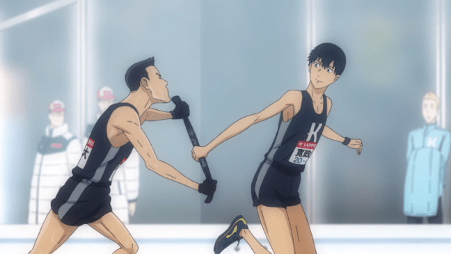 Run With The Wind Episode 22 King hands the sash to Kakeru