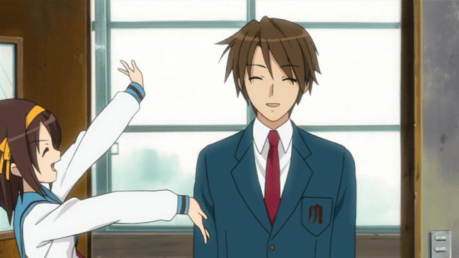 Itsuki Koizumi - the mysterious transfer student.
