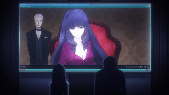 Image from The Irregular at Magic High School - Tatsuya and Miyuki talk with their aunt