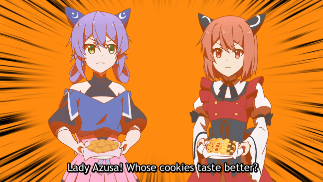 Cookie contest. Image from I've Been Killing Slimes for 300 Years