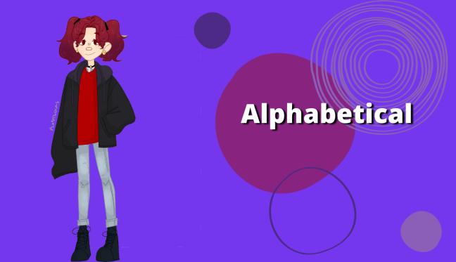 Anime Review Alpahbetical