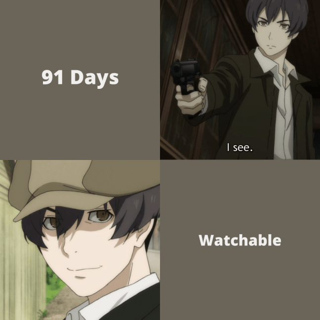 Anime Review 91 Days