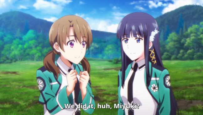 Mahouka Koukou no Yuutousei Episode 11