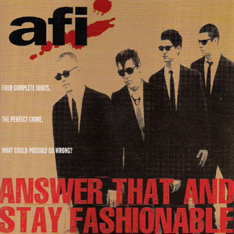 AFI  A Fire Inside Discography on 100 XR  The Nets 1