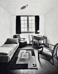 A consulting room at Malet Place, 1932