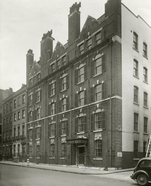 Beaumont Street 1947