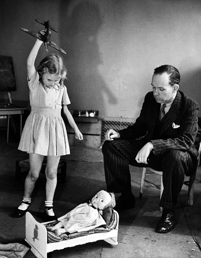 John Bowlby and a child