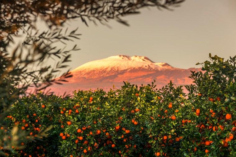 Etna, arance