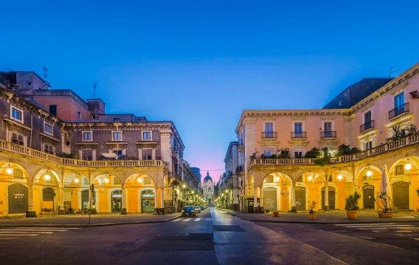 Catania Piazza Mazzini