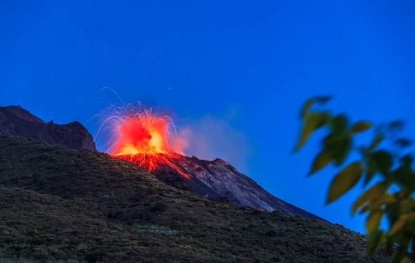 Attività eruttiva dello Stromboli