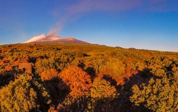 Etna, le campagne di Ragalna
