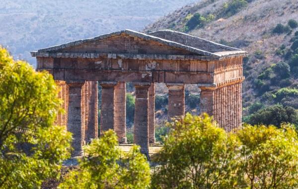 Il Tampio del parco archeologico di Segesta