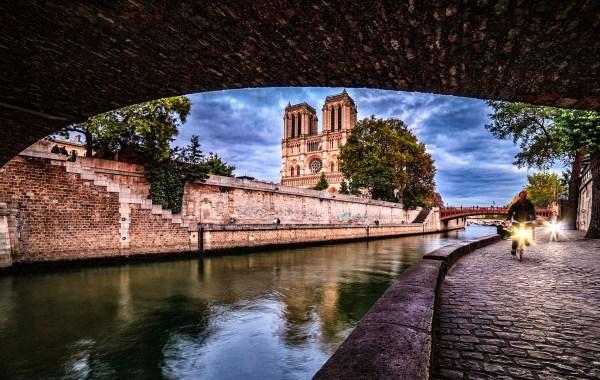 Parigi, Notre Dame e il fiume Senna