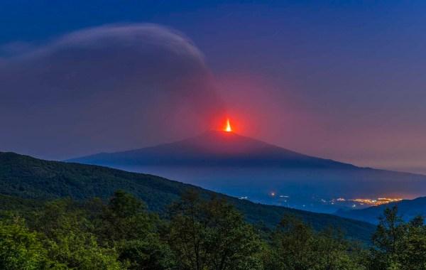 Etna, parossismo del 24 maggio 2021