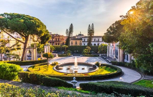 Catania, Villa Bellini