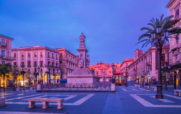 Catania, Piazza Stesicoro